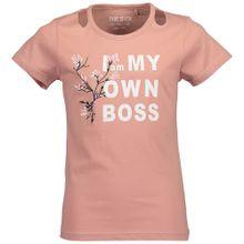 BLUE SEVEN T-Shirt rosa / weiß