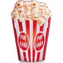 Intex Luftmatratze Popcorn weiß/beige