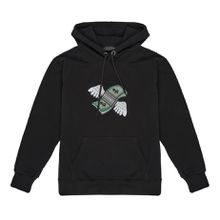 fly money patch hoodie