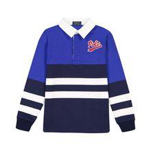 Polo Ralph Lauren Jungen-Langarm-Polo - Blau (2T, 3T, 4T, 5, 6, 7, L, M, S, XL)