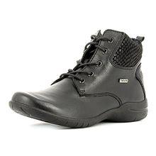 Josef Seibel Damenschuhe 92497 Fabienne 23 Damen Sneaker, Boots, sportliche Stiefelette schwarz (600 (schwarz)), EU 38