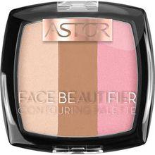 Astor Make-up Teint Face Beautifier Contouring Palette Nr. 001 Light 9,20 g