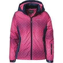 Skijacke HERMIA mit abnehmbarer Kapuze  pink Mädchen Kinder