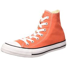 Converse Unisex-Erwachsene Chuck Taylor All Star Hohe Sneakers, Orange (My Van is on Fire/White/Black), 36 EU