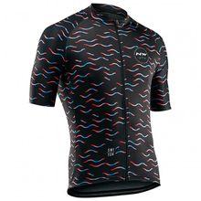 Northwave - Wave Jersey Short Sleeves - Radtrikot Gr 3XL;L;M;XL;XXL schwarz