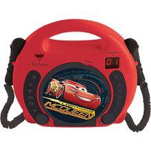 Disney Cars Kinder CD Player mit 2 Mikrofonen rot