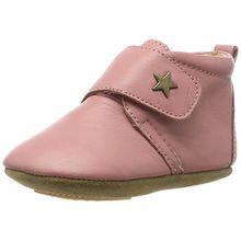 Bisgaard Unisex Baby Velcro Star Pantoffeln, Pink (91 Rosa), 27 EU
