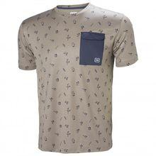 Helly Hansen - Lomma T-Shirt Gr L;M;S;XL blau;grau