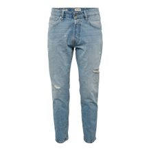 JACK & JONES Jeans 'JJIFRANK JJLEEN JOS 270' blue denim