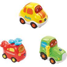 VTech Tut Tut Baby Flitzer - Set 11 (Hubschrauber, Auto, Traktor)