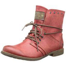 Mustang 1134-602, Damen Kurzschaft Stiefel, Rot (5 rot), 40 EU (6.5 Damen UK)