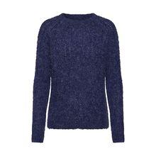 PIECES Pullover Lafayette Pullover blau Damen