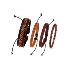 J. Jayz Armband '139-809' braun / kastanienbraun / bronze