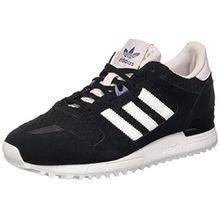 adidas Damen ZX 700 Trainingsschuhe, Black (Negbas/Ftwbla/Purhie), 39 1/3
