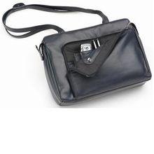 Hans Kniebes HK-Style Handtaschen & Rucksäcke Business-Handtasche mit Organizer-Vortasche, Nappa-Vollrindleder, 345 x 265 x 95 mm bordeaux 1 Stk.
