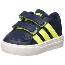 adidas Unisex-Kinder Vs Set CMF Inf Sneakers, Blau (Conavy/SYELLO/Ftwwht), 22 EU