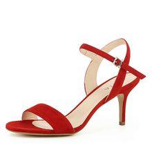 EVITA Damen Sandalette VERONICA Klassische Sandaletten rot Damen