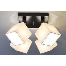 Designer Decken Leuchte Lampe Spot Deckenleuchte Strahler Salon Hotel Bar Theke E27 LED Bern 27a (Sockelfarbe: Wenge)