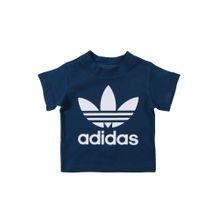 ADIDAS ORIGINALS T-Shirt navy / weiß