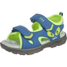 LURCHI Sandalen Blinkies, WMS-Weite W für breite Füße blau / apfel