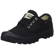 Palladium Unisex-Erwachsene Pampa Oxford Originale Sneaker, Schwarz (Black/Black 466), 45 EU