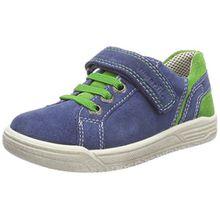 Superfit Jungen Earth Sneaker, Blau (Water Kombi), 40 EU