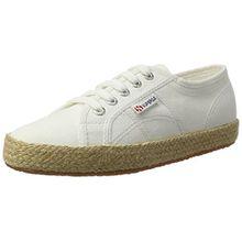Superga Damen 2750 Cotropew Sneaker, Weiß (White), 35 EU