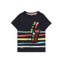 S.Oliver Junior Shirt dunkelblau / mischfarben