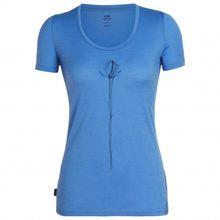Icebreaker - Women's Tech Lite S/S Scoop Solo - T-Shirt Gr M;S;XS blau;schwarz;grau/türkis