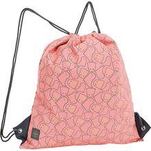 Sportbeutel 4kids, String Bag, Spooky peach koralle