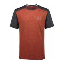 Mons royale Huxley Hike Damen T-Shirt orange
