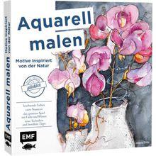 Buch - Mal dich glücklich: Aquarell malen - Motive inspiriert von der Natur