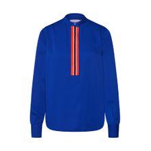 Calvin Klein Bluse 'PLACKET DETAIL' blau