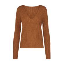VILA Pullover braun