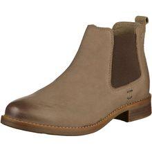 s.Oliver Stiefelette Chelsea Boots grau Damen