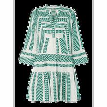 Kleid mit Ikat-Muster