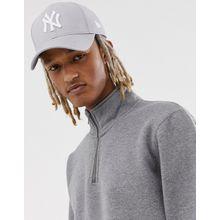 New Era - 9Forty - NY - Verstellbare Kappe in Grau - Grau