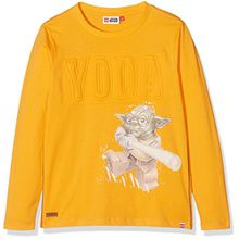 Lego Wear Jungen Langarmshirt Lego Boy Star Wars Teo 154-T-Shirt L/S, Orange (Copper), 8 Jahre