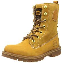 Dockers by Gerli 35AA305-300910, Damen Combat Boots, Gelb (Golden Tan 910), 40 EU