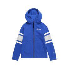 Nike Sportswear Sweatjacke blau / grau