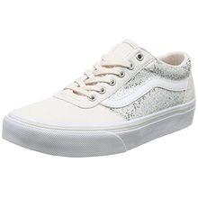 Vans Unisex-Kinder Maddie Sneaker, Rosa (Glitter), 38 EU (Herstellergröße: 5 UK)