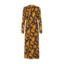 ONLY Kleid 'Daisy' gelb / schwarz