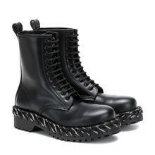 Ankle Boots mit Schnürung
