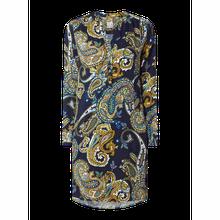 Hemdblusenkleid mit Paisley-Dessin
