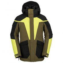 Volcom - Utility Jacket - Skijacke Gr M schwarz/oliv