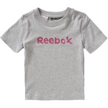 REEBOK Shirt graumeliert / eosin