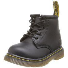 Dr. Martens Brooklee B Softy T Black Unisex-Kinder Bootsschuhe, Schwarz - Noir (Black Softy T), 19