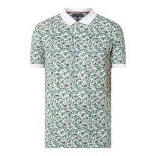 Regular Fit Poloshirt mit Allover-Muster
