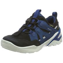 Ecco Jungen Biom Vojage Sneaker, Schwarz (Black/Black/Poseidon), 37 EU