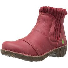 El Naturalista Damen NE23 Soft Grain Tibet/Yggdrasil Chelsea Boots, Rot (Tibet N81), 37 EU